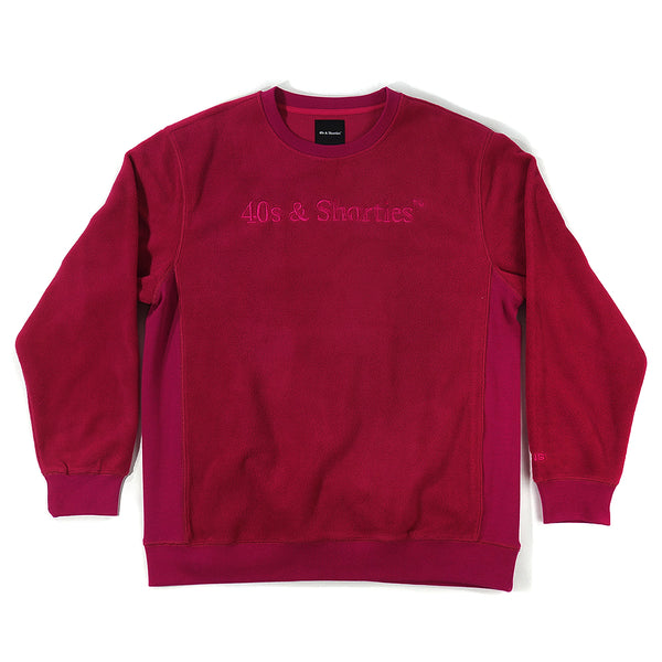 Text Logo Crew Sweater