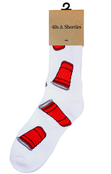 Red Cups Socks