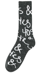 Scribble Socks