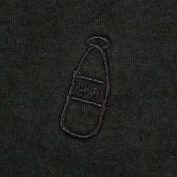 Scribble Bottle Tonal Embroidered Tee