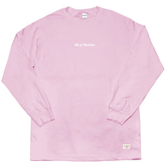Text Logo Long Sleeve