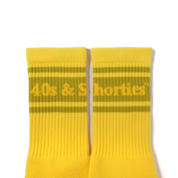 Text Logo Socks