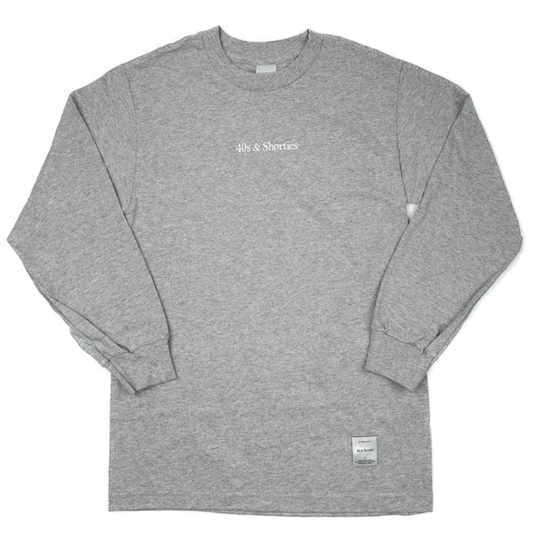 Text Logo Long Sleeve Tee
