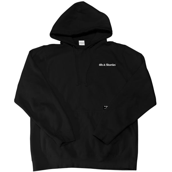 Text Logo Pullover Hoodie