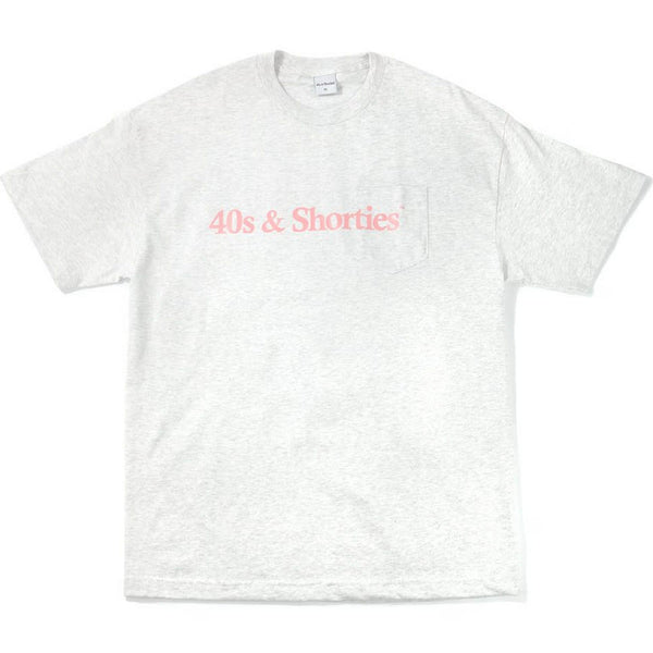 Text Logo Pocket Tee