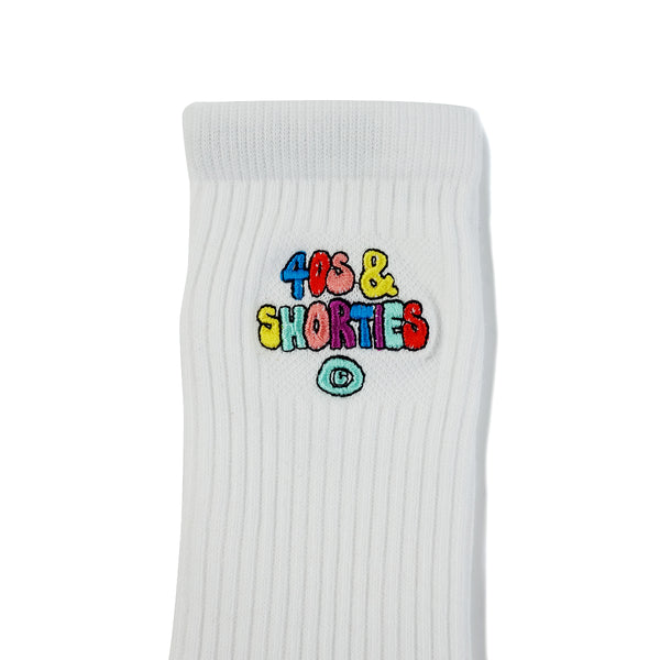 Bubble Logo Socks