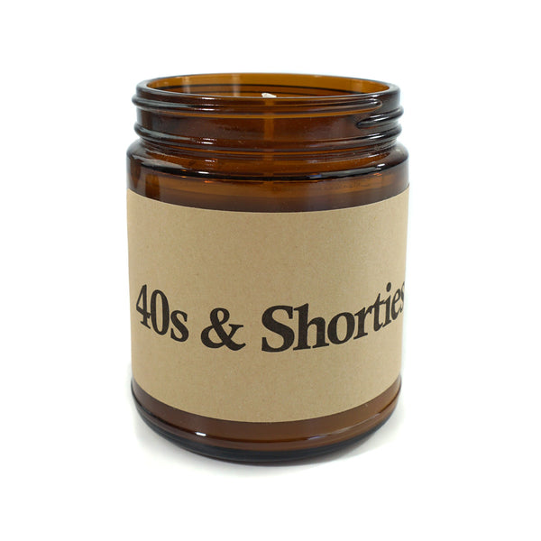 40s & Shorties Candle (Vanilla)