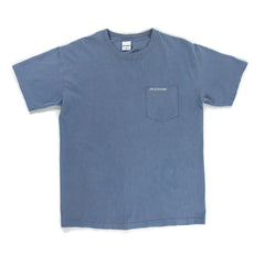 Slim Text Logo Pocket Tee