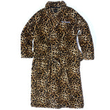 40s & Shorties X HUSTLER Cheetah Robe