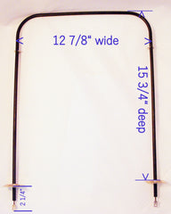 1168623 bake element measurements