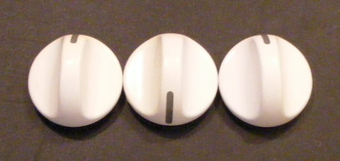 131141105 Frigidaire Washer Rotary Knob Set of 3