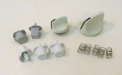 134432000 134431800 134385801 Frigidaire Dryer Knob Set