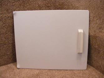 Frigidaire White Dryer Door Assembly 141992-032 -039 3016428