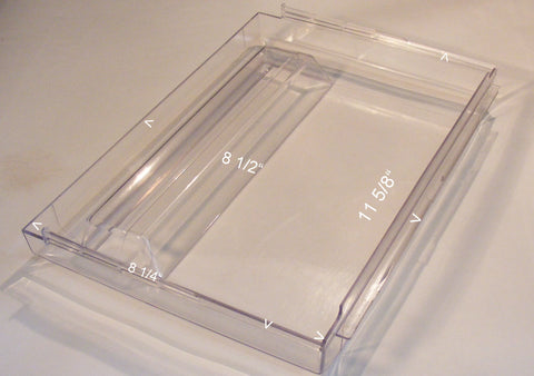 215357609 Frigidaire Refrigerator Crisper Drawer Pan Clear Front Cover