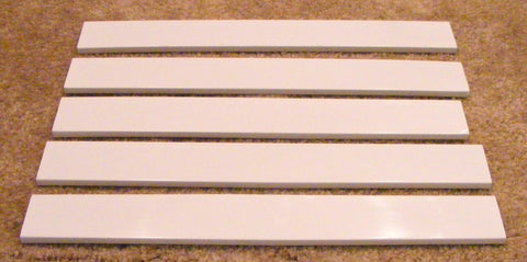2256010 2195934 Whirlpool Refrigerator Door Shelf Trim Set of 5
