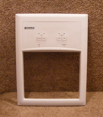 2301587W Kenmore Refrigerator Complete White Dispenser Cover