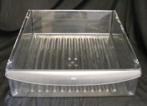 240342830 Frigidaire Refrigerator Clear Meat Deli Pan Drawer