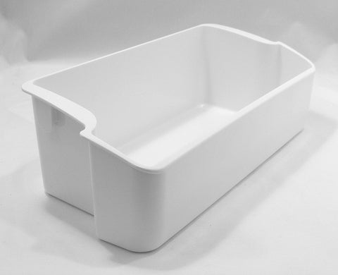 297187204 Frigidaire Freezer White Door Bin Shelf