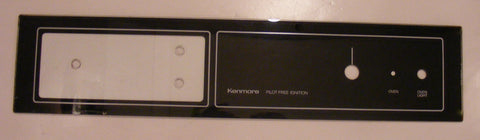 Glass Kenmore Wall Oven 329575 Control Panel