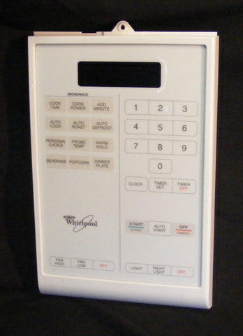 4358799 Whirlpool Microwave White Control Touch Panel