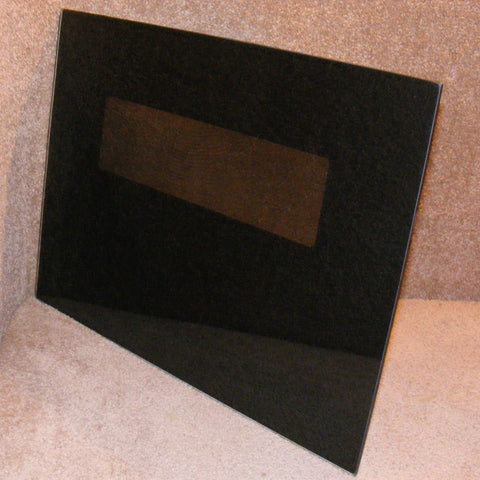 4363681 Whirlpool Double Wall Oven Black Outer Door Glass