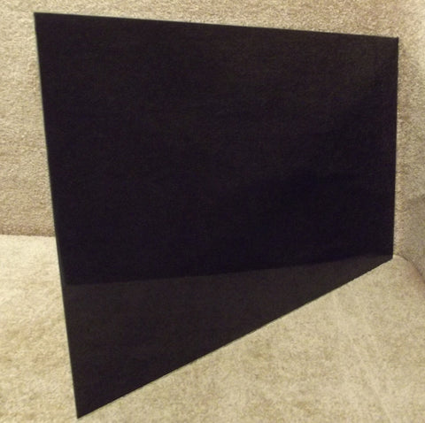 4371478 Whirlpool Roper Range Black Outer Oven Door Glass