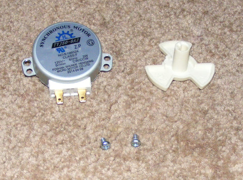 5304464113 5304472494 New Frigidaire Microwave Turntable Motor and Coupler