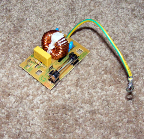 5304472447 5304488359 New Frigidaire Microwave Noise Filter with Fuse