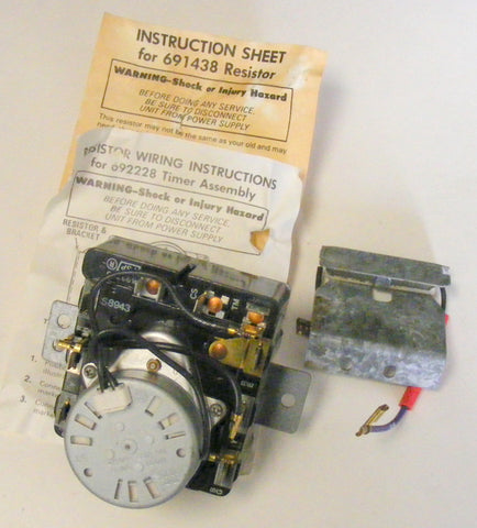 693746 692228 Whirlpool Dryer New Timer Control O.E.M.