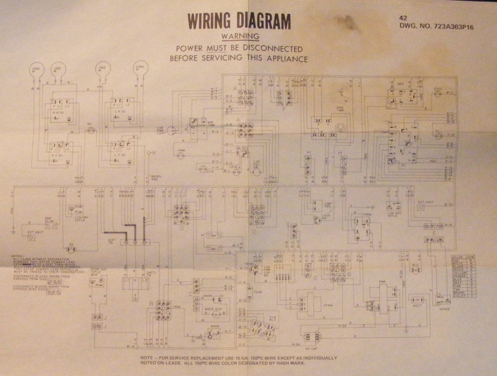 Ge Range Wiring Diagram Free For You Gas Stove Schematic Jbv42g001ad Vintage Good Appliance Rh Com Hood Spectra