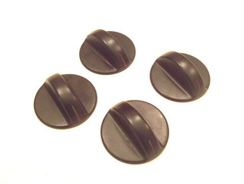 74003612 74003713 Crosley Maytag Range Black Burner Knob Set