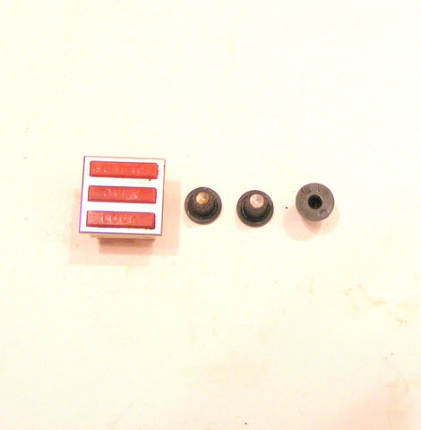 7407P067-60 7711P466-60 Crosley Range Signal Light with Clock knobs