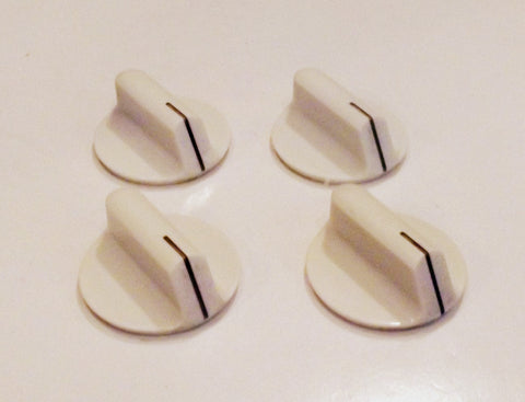 7737P042-60 74003143 Jenn Air Range White Burner Knob Set