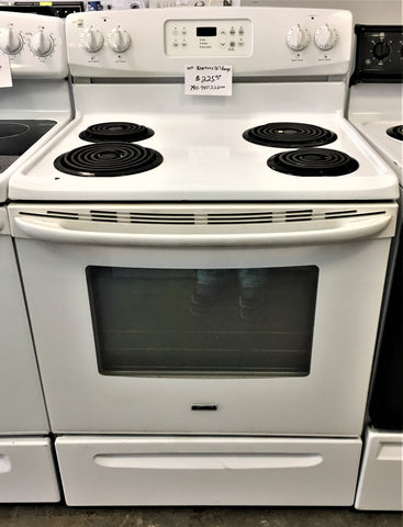 Used Reconditioned Kenmore Electric Range White