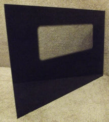 2242W1A Roper Range Black Outer Oven Door Glass
