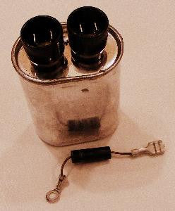 815124 Whirlpool Microwave High Voltage Capacitor
