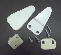 8210222 0-90008-075 Crosley Freezer Upper Door Hinge Screws and Cover