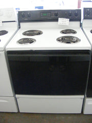 Used Reconditioned Kenmore White Electric Range