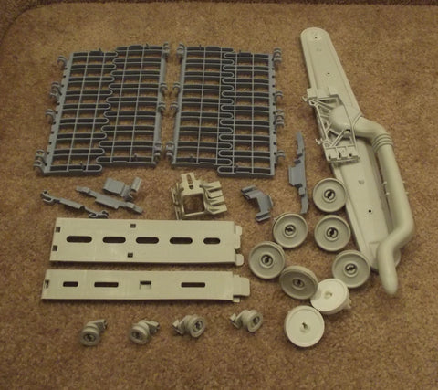 99002624 6-917643 99002669 Whirlpool Dishwasher Dish Rack Parts Pack