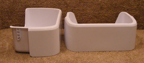 DA63-05036A Samsung Refrigerator Door Bin Bucket Guard Set RF217ACPN