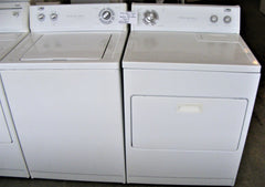 Used Reconditioned White Estate Washer & Electric Dryer Set