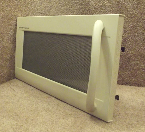 FDORFB060MRT0 Sharp Microwave Almond Complete Door R-1482