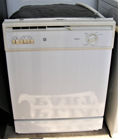 Used Reconditioned White GE Nautilus Dishwasher