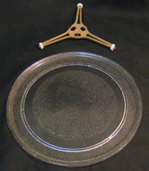 Ge glass turntable and support 2