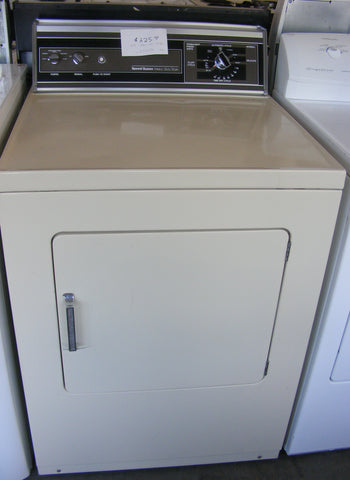 Used Reconditioned Almond Speed Queen Electric Dryer