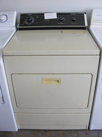 Used Reconditioned Almond Whirlpool Gas Dryer