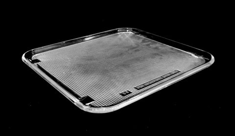 "Microwave 11"" x 10 1/4"" Glass Tray Plate"