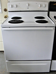 Used Reconditioned Estate White Coil Electric Range