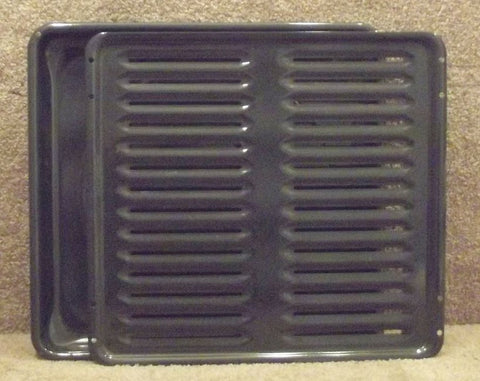 WB49K2 GE Range Broiler Pan with Insert