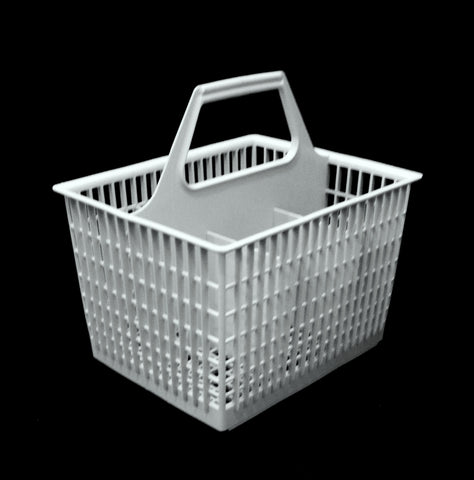 WD28x265 WD28x0265 GE Gray Dishwasher Silverware Basket